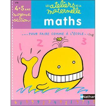 Ateliers maternelle maths ms cahier d 39 exercices broch - Livre maternelle gratuit ...