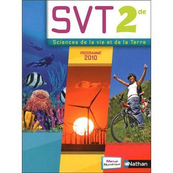 Sciences et Vie de la Terre 2de 2010 - manuel numérique multi-supports 1 an