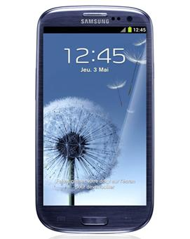 samsung galaxy s3 i9300 bleu galet smartphone. Black Bedroom Furniture Sets. Home Design Ideas