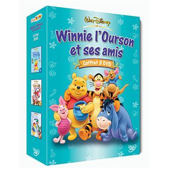 Amis Winnie L Ourson coffret winnie l'ourson et ses amis - volume 4 - dvd zone 2 - achat