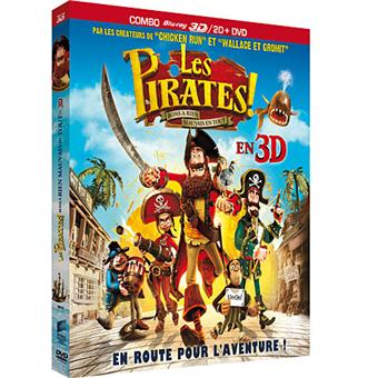 Les Pirates !Les Pirates ! - Le Film - Combo Blu-Ray 3D + DVD