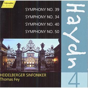 Sinfonien 39,34,40+50