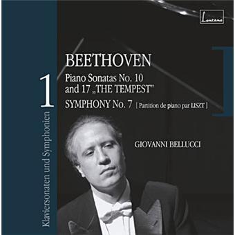 Sonates Opus 14 n.2 et Opus 31 n.2 - Symphonie n.7 transcription Liszt