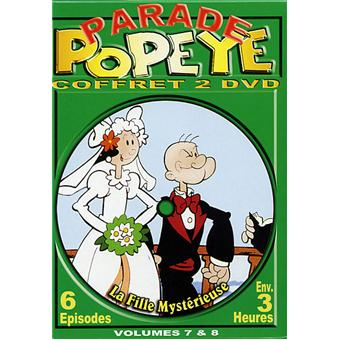PopeyeCoffret volumes 7 et 8