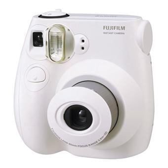 Fujifilm instax mini 7s blanc appareil photo instantan for Prix appareil photo fujifilm finepix s5700