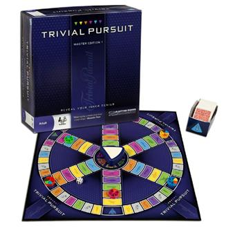 hasbro trivial pursuit master jeu de culture g n rale. Black Bedroom Furniture Sets. Home Design Ideas