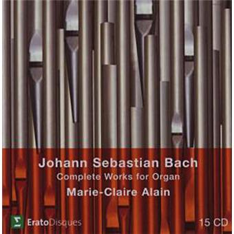 Box Set Bach - Complete Organ Works - 15 CD