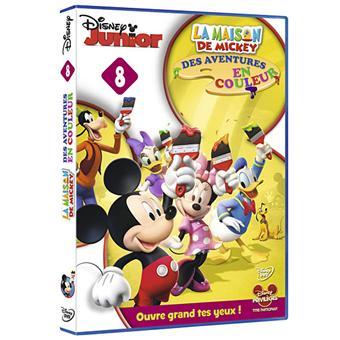 La Maison de MickeyMickey Mouse Clubhouse - Mickey's Kleuren Avontuur