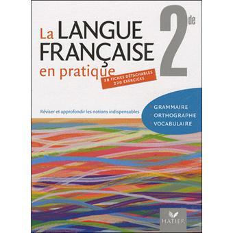 La Langue Francaise En Pratique 2de Ed 2009 Fichier Eleve