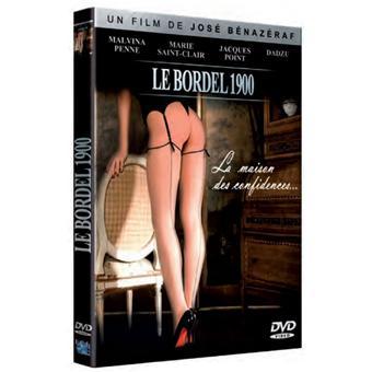 Le bordel 1900 : La maison des confidences... - DVD Zone 2 - José ...