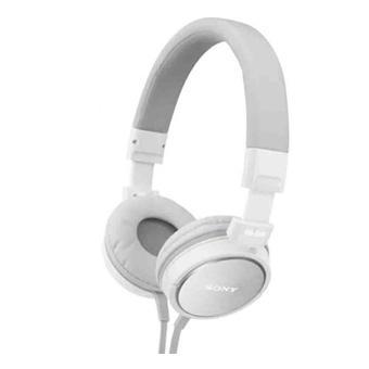Casques et écouteurs SONY MDRZX600 BLANC