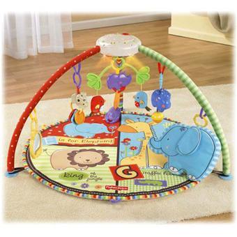 Mattel fisher price tapis de zoo deluxe tapis d 39 veil achat prix fnac - Tapis d eveil fisher price zoo deluxe ...