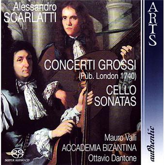 Concerti grossi cello sonatas