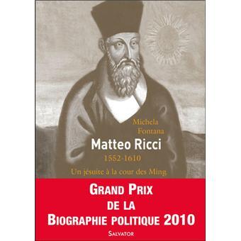 Matteo Ricci Broch 233 Michela Fontana Achat Livre Fnac border=