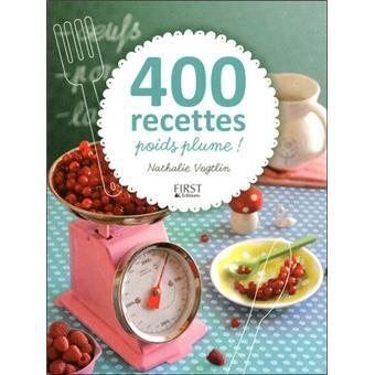 400 recettes poids plume !