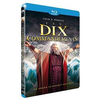 Les dix Commandements - Blu-Ray