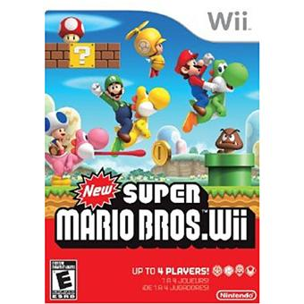 new super mario bros wii jeux vid o achat prix fnac. Black Bedroom Furniture Sets. Home Design Ideas