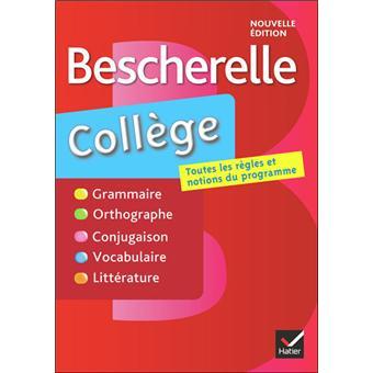 Bescherelle Francais College 6 5e 4e 3e