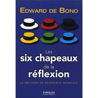 Les Six Chapeaux De La Reflexion La Methode De Reference Mondiale