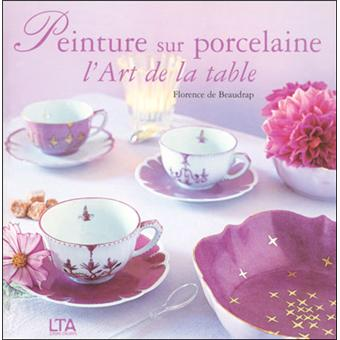 Art de la table porcelaine