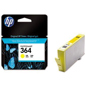 Cartouche d'encre HP 364 (CB320EE) - Jaune