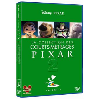 La Collection des Courts-métrages Pixar - Volume 2 DVD
