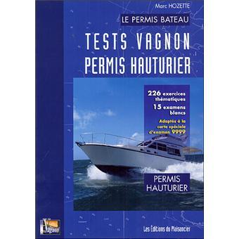 Tests Vagnon Permis Hauturier Broche Collectif Achat Livre Fnac