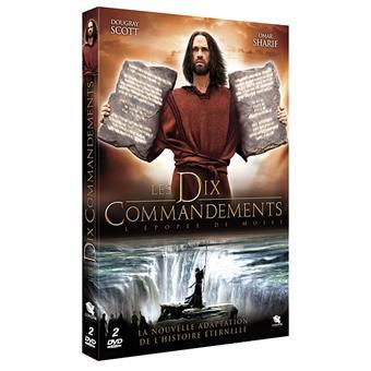 Les 10 commandements L'épopée de Moïse DVD