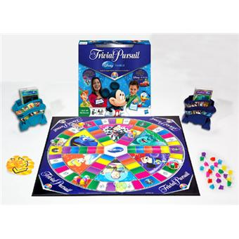hasbro trivial pursuit disney famille jeu de culture. Black Bedroom Furniture Sets. Home Design Ideas