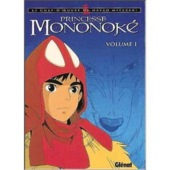 Princesse Mononoke Tome 1 Tome 01 Princesse Mononoke Hayao