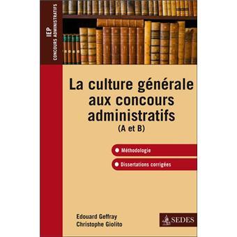 Dissertation culture gnrale concours