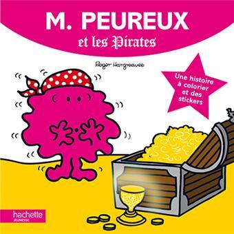 Monsieur madame histoire colorier monsieur peureux et - Monsieur pirate ...