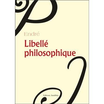 Libellé philosophique