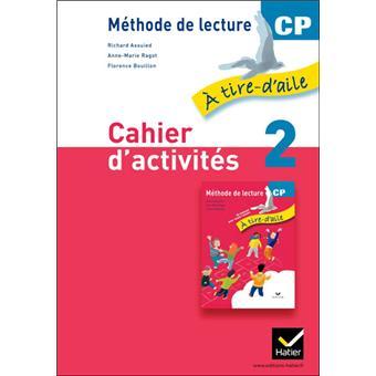 À tire-d'aile CP éd. 2011 - Cahier d'activités 2