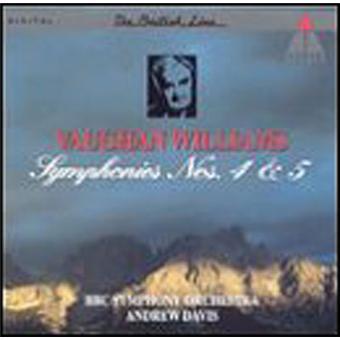Symphonies N°4 et N°5