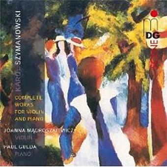 Intégrale des oeuvres pour violon et piano