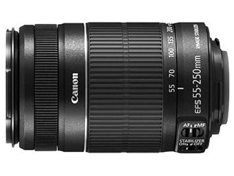 canon ef s 55 250 mm f 4 0 5 6 is ii zoom achat prix fnac. Black Bedroom Furniture Sets. Home Design Ideas