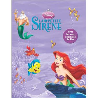Disney Princesses Livre Avec Un Cd Audio La Petite Sirene
