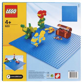 lego 620 plaque de base bleue 32 x 32 lego achat prix fnac. Black Bedroom Furniture Sets. Home Design Ideas