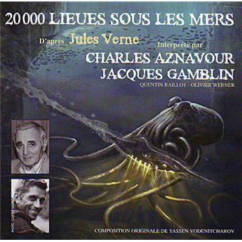 20000 lieues sous les mers d'après Jules Verne Inclus un livret de 12 pages