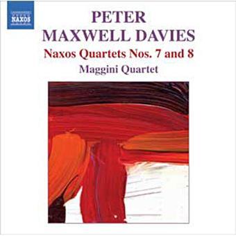 Quatuors Naxos N°7 et N°8