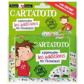 Cartatoto jeu de 110 cartes apprendre les additions en s - Apprendre les tables d addition en s amusant ...