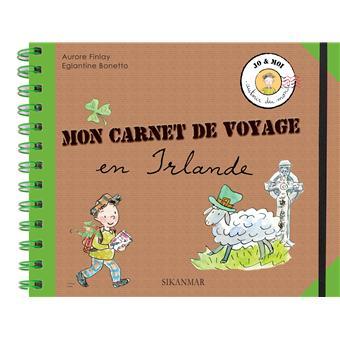 mon carnet de de voyage en irlande broch aurore finlay eglantine bonetto achat livre. Black Bedroom Furniture Sets. Home Design Ideas
