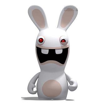 Figurine lapin cr tin hurlant sur jeux vid o - Jeux lapin cretain gratuit ...