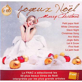 Carte Cadeau Fnac Joyeux Noel.Joyeux Noel Merry Christmas Exclusivite Fnac