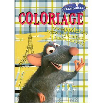 Ratatouille Coloriage Et Poster Coloriage Poster Ratatouille
