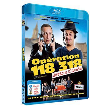 Opération : 118 318 sévices clients - Combo Blu-Ray + DVD