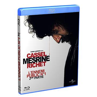 Mesrine : L'Ennemi public n°1 - Partie 2 - Blu-Ray