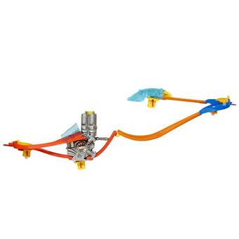 Mattel Hot Wheels Wall Tracks Cascades Aériennes - Circuit ...