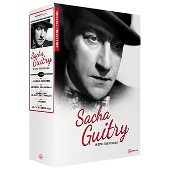 Coffret Sacha Guitry, un esprit français (1949-1952) 5 films DVD